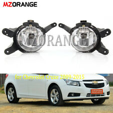 Pair Front Bumper Fog Light Lamp for Chevrolet Cruze 2011-2014 With Blub Driving