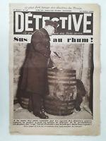 DETECTIVE n°89 (1930) Prohibition USA-Guerre des drogues Marseille-Mystère Blois