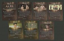 Kristen Stewart Werewolf Twilight Saga Fab Card LOT Alex Meraz Chaske Spencer