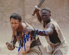 Russell Crowe signed Gladiator 8x10 photo