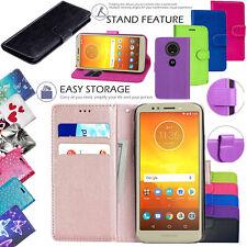 Per Motorola Moto E6 E6 PLUS G7 G6 Play Power in pelle portafoglio cellulare custodia cover