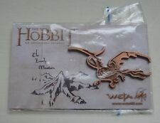 The Hobbit An Unexpected Journey Weta Smaug pin brooch dragon Warner Bros. Lotr