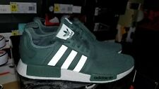 ADIDAS MEN'S BOOST NMD R1 TRACE GREEN TURBO BY9692 11