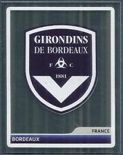 PANINI UEFA CHAMPIONS LEAGUE 2006-07- #277-BORDEAUX TEAM BADGE-SILVER FOIL