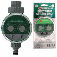 AUTOMATIC ELECTRONIC WATERING IRRIGATION SYSTEM WATER TIMER GARDEN 2DAIL