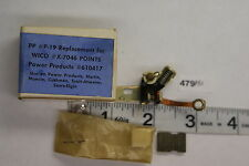 NOS PP Replacement WICO X7046 Power Products Points 610417 Martin Muncie Cushman