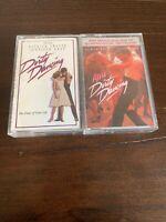 DIRTY DANCING + MORE DIRTY DANCING CASSETTE LOT! Original Soundtrack movie tape