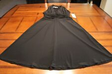 NWT~WOMENS~EVAN-PICONE~LITTLE BLACK DRESS~8 PETITE~POLYESTER/SPANDEX~MSRP $89