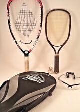 Ektelon O3 Hornet Hybrid Power Scoop Racquetball Racquet & Case W extra Racquet
