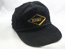Vintage Versalift Hat Black Strapback Baseball Cap
