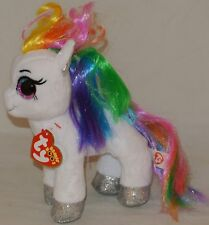 """New! 2018 Summer Release Ty Beanie Boos STARR the little pony  6"""" new foil look"""