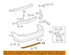 TOYOTA OEM 7689147010 04-09 Prius Rear Bumper Spoiler Center 76891-47010