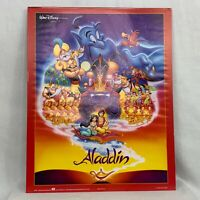Vintage Aladdin Movie Poster 1992 Walt Disney Printed In USA OSP Jasmine Genie