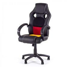 Chaise de bureau Siége de bureau Fauteuil racing gaming sport ordinateur hauteur