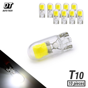 Syneticusa T10 194 168 LED White Bulbs Combo 320lm Interior / License Plate x10