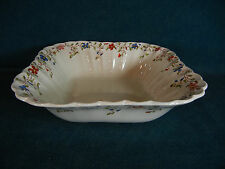 "Copeland Spode Wicker Dale Square 9"" Vegetable Serving Bowl"