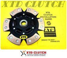 XTD® 6 PUCK STAGE 3 CLUTCH DISC FITS NISSAN 180SX 200SX CA18DET