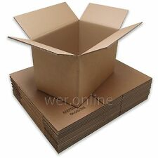 30 X Thick Removal Storage Cardboard Boxes - Double Wall - 18 X 12 X 1