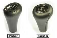BMW e30 e36 e34 e32 e28 e39 e38 pelle copertura in pelle di riferimento per Pomello a siringa n351
