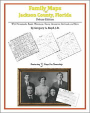 Family Maps Jackson County Florida Genealogy FL Plat