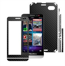 Textured Carbon Skin,Full Body Protector Case,Vinyl Wrap For BlackBerry Z30