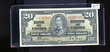 1937 Bank of Canada $20 Coyne Towers  CH66