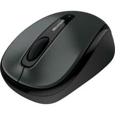 Microsoft 3500 Wireless Mobile Mouse LochNess Gray - Radio Frequency Connection