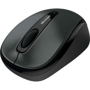 Microsoft 3500 Wireless Mobile Mouse Loch Ness Gray - Radio Frequency Connection