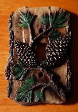 PINE CONE SINGLE TOGGLE LIGHT SWITCH PLATE COVER SWITCHPLATE LODGE CABIN DECOR