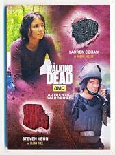 Walking Dead Season 4 Lauren Cohan & Yeun as Maggie & Glenn Dual Wardrobe #DM9