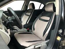 Sitzbezüge Schonbezüge für BMW 1er schwarz-hellbeige V1924012 Vordersitze