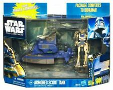 Armored Scout Tank with Tactical Droid Action Figure Set
