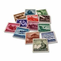 World War II - Germany, 13 Nazi Stamps - Wehrmacht 1944