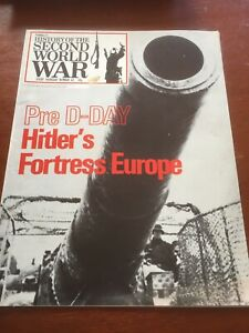 purnells history of the second world war No.62 Hitlers Fortress Europe Magazine
