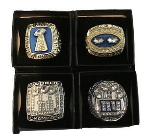 4 Giants world championship ring replica Taylor ,Taylor , Manning And Manning.
