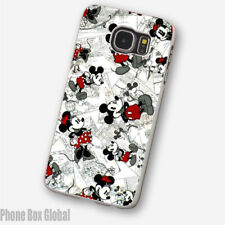 MICKEY MINNIE MOUSE DISNEY CLEAR PHONE CASE FITS SAMSUNG GALAXY S9 & S9 PLUS.