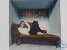 CHRISTOPHE WILLEM JACQUES A DIT CD PROMO