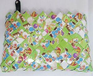 NAHUI OLLIN Tootsie Pop Roll Wrapper Arm Candy Clutch Wallet Small Makeup Bag