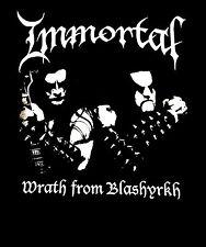IMMORTAL cd lgo WRATH OF BLASHYRKH Official SHIRT LRG new