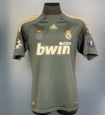 REAL MADRID AWAY FOOTBALL SHIRT 2009/2010 #8 KAKA SPAIN FOOTBALL JERSEY SIZE M