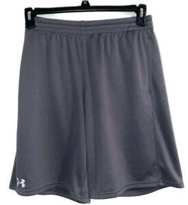 Men's Under Armour Mesh Shorts Gray Size M
