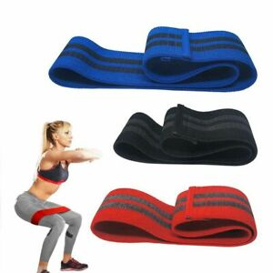 Booty Exercise Yoga Stretching Resistance Bands Hip Bands Anti Slip Cotton