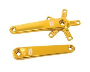 PX-CK13ST135-GD-P Promax SQ-1 Square Taper JIS Cold Forged Crank Arms (Gold)