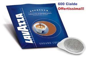600 Cialde Caffè Lavazza Gran Espresso Tostatura Scura Filtrocarta ESE 44mm