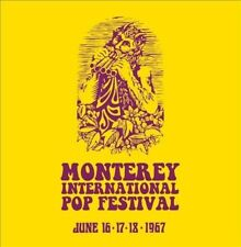 Monterey International Pop Festival June 16 17 18 1967 CD Box US Made/shiped