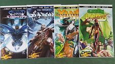 Meet The Bad Guys #1-4 Complete Series Set Dynamite bagged boarded NM