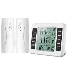 Refrigerator Thermometer Digital Kitchen Wireless Fridge Freezer Temperature