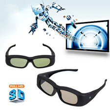 Universal IR Active 3D Glasses Shutter For Sony Samsung Panasonic Sharp LG TV UK