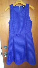 Mossimo medium women's bright blue sleeveless dress