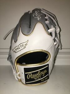 NEW Rawlings PRO204W-2GW WING TIP RHT Heart of the Hide Baseball Glove 11.5""